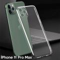 Ally İPhone 11 Pro Max 6.5 İnch Kamera Korumalı Silikon Kılıf
