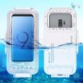 PULUZ 45m Su geçirmez Dalış kılıfı Usb Type C Anroid Cihazlarla Uyumlu Galaxy,Huawei,Xiaomi