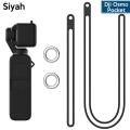 Ally Dji Osmo Pocket Koruyucu Silikon Kılıf+El Ve Boyun Strap Askısı