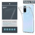 GOR Samsung Galaxy S20 Kamera Korumalı Ultra Slim Silikon Kılıf