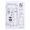 JIAFA JF-870 iPhone 11 6.1 İnc Mıknatıslı Çalışma Hasırı Vida Gostergeli