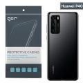 GOR Huawei P40 Kamera Korumalı Ultra Slim Silikon Kılıf
