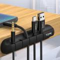 TOPK Kablo Düzenleyici Masa Kenarı Yapışkanlı Kablo Tutucu