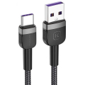 KUULAA USB Type-C 3A Hızlı Şarj 2 Metre Uzun Usb Şarj Kablosu
