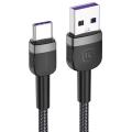 KUULAA USB Type-C 3A Hızlı Şarj 0.50CM Kısa Usb Şarj Kablosu