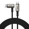 Baseus hammer Usb Type-C PD3.1 Gen2 100W(20V-5A)MacBook iPad Pro Hızlı Şarj Kablosu  4.0