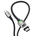 Baseus 100W Hızlı Şarj Zinc Manyetik USB Type C Kablo 100W 20V 5A 1,2M