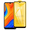 ALLY Huawei Y6s (2019) 9D Full Glue Tempered Cam Ekran Koruyucu