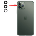 iPhone 11 Pro- Pro Max  inch Arka Kamera Camı Lens 1 Adet