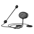 ALLY DK11 Motosiklet Kask Kulaklık Bluetooth 5.0 Kulaklık FM Radyo IP54 Su Geçirmez Otomatik Cevap