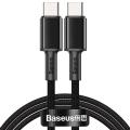 Baseus PD 100W Hızlı Şarj Usb Type-C To Type C Kablo 2Metre MacBook iPad Pro