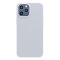 Baseus İPhone 12- 12 Pro Comfort İnce Şeffaf Kılıf Matte PP Kılıf