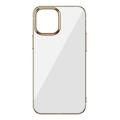 Baseus Glitter İPhone 12-12 Pro Şeffaf Lüx Silikon Kılıf Soft TPU Kılıf