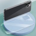 ALLY iPhone 12 Pro Max 6.7 Crystal Series Slim Şeffaf  Silikon Kılıf