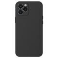 Baseus Liquid Silica Gel iPhone 12 Pro 6.1 Kılıf Ultra Koruma Silikon Kılıf