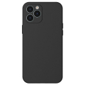 Baseus Liquid Silica Gel iPhone 12 Pro Max 6.7 Kılıf Ultra Koruma Silikon Kılıf