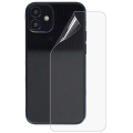 İPhone 12 Mini Membran Nano Hidrojel Film Arka Koruyucu hayalet Arka Koruyucu