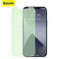BASEUS İPhone 12 Pro Max 6.7 0.15mm Full Tempered Cam Ekran Koruyucu 2Set Anti-Bluelight