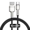 Baseus Cafule Series Metal USB TO TYPE-C 40W 25CM Şarj Veri Kablosu