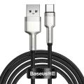 Baseus Cafule Series Metal USB TO TYPE-C 40W 1M Şarj Veri Kablosu