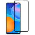 Huawei P Smart 2021 Full Glue Tempered Cam Ekran Koruyucu