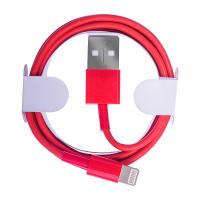 İphone 5s,6s,6s Plus 7,7 Plus Lightning Kaliteli Kırmızı Usb Kablo