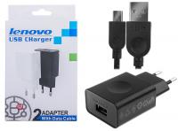 LENOVO 2.0 AMPER HIZLI ŞARJ VE MİCRO USB KABLO SET