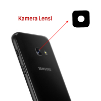 Ally Samsung Galaxy A320 A3 2017 A520 A5 2017 A720 A7 2017 İçin  Kamera Lens Camı