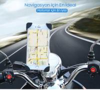 ALLY JS-030 UNİVERSAL MOTORSİKLET TELEFON TUTUCU