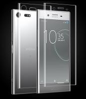 Sony Xperia Xz- Xzs Şeffaf Darbe Emici Parlak Ekran+arka Koruyucu