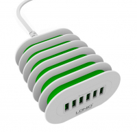 LDNIO A6702 6 USB PORT ÇOKLU 7A ŞARJ KABLOSU