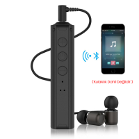 ALLY P9 BLUETOOTH KULAKLIK+ ARAÇ BLUETOOTH AUX RECEİVER