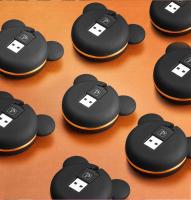 OUTBASF 2İN1 İPHONE VE MİCRO USB AYICIK FİGURLU USB KABLO