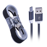 ALLY 1.5 METRE RENKLİ HALAT USB TYPE-C USB KABLO