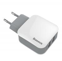 BASEUS DUAL USB 2.4A HIZLI ŞARJ ADEPTOR