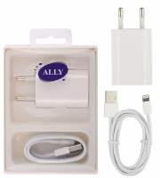 ALLY 2İN1 İOS 10 İPHONE 6,6PLUS 5,5C.5S.MİNİ İPAD,İPAD4,İPAD5, İPAD6,POD 5 ŞARJ  USB KABLO SET