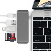 5 İN 1 USB-C HUB 3.0 TYPE-C ŞARJ KART READER TYPE-C BÜTÜN CİHAZLAR İÇİN