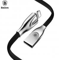 BASEUS ZİNC ALLOY İPHONE 5,6,7,8,X HIZLI ŞARJ METAL USB KABLO