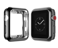 Ally Apple Watch İçin 42mm 1,2,3 Ultra Slim Parlak Bumper Tpu Kılıf