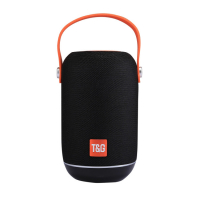 T&G TG107 PORTATİF BLUETOOTH 4.2 SPEAKER TF CARD FM RADİO