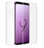 Ally Samsung Galaxy S9 İçin Ön Arka 3d Nano Glass Full Şeffaf Koruyucu