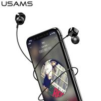 USAMS EP-21 KARE KULAK İÇİ 3.5MM JACK MİKROFONLU KULAKLIK