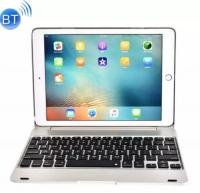 İpad Pro 9.7, İpad Air 2, Metal Bluetooth Klavye Kılıf