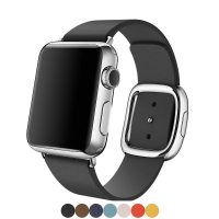 ALLY APPLE WATCH İÇİN 38MM DERİ KORDON KAYIŞ MODERN TOKA