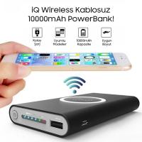 Ally Wireless Kablosuz 10000mah 2.1A Hızlı Şarj Power Bank