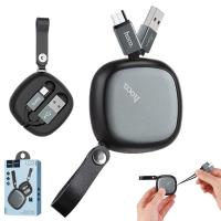 Hoco U33 Taşıma Çantalı  Mikro Usb Kablo