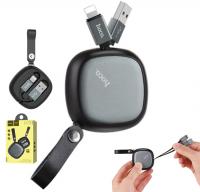 HOCO U33 TAŞIMA ÇANTALI İPHONE 5,6,6S 7,8 USB KABLO