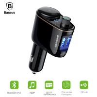 Baseus Ccall Bluetooth Aktarım Mp3 Araç Kiti Dual Usb Araç Şarjı
