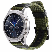 ALLY SM GEAR S2,R600 WATCH S4 42MM JEEP NYLON DİŞLİ DOKUMA KAYIŞ KORDON