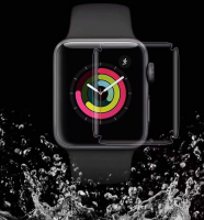 ALLY APPLE 42MM WATCH İÇİN 3D FULL KAPLAYAN NANO TPU KORUYUCU